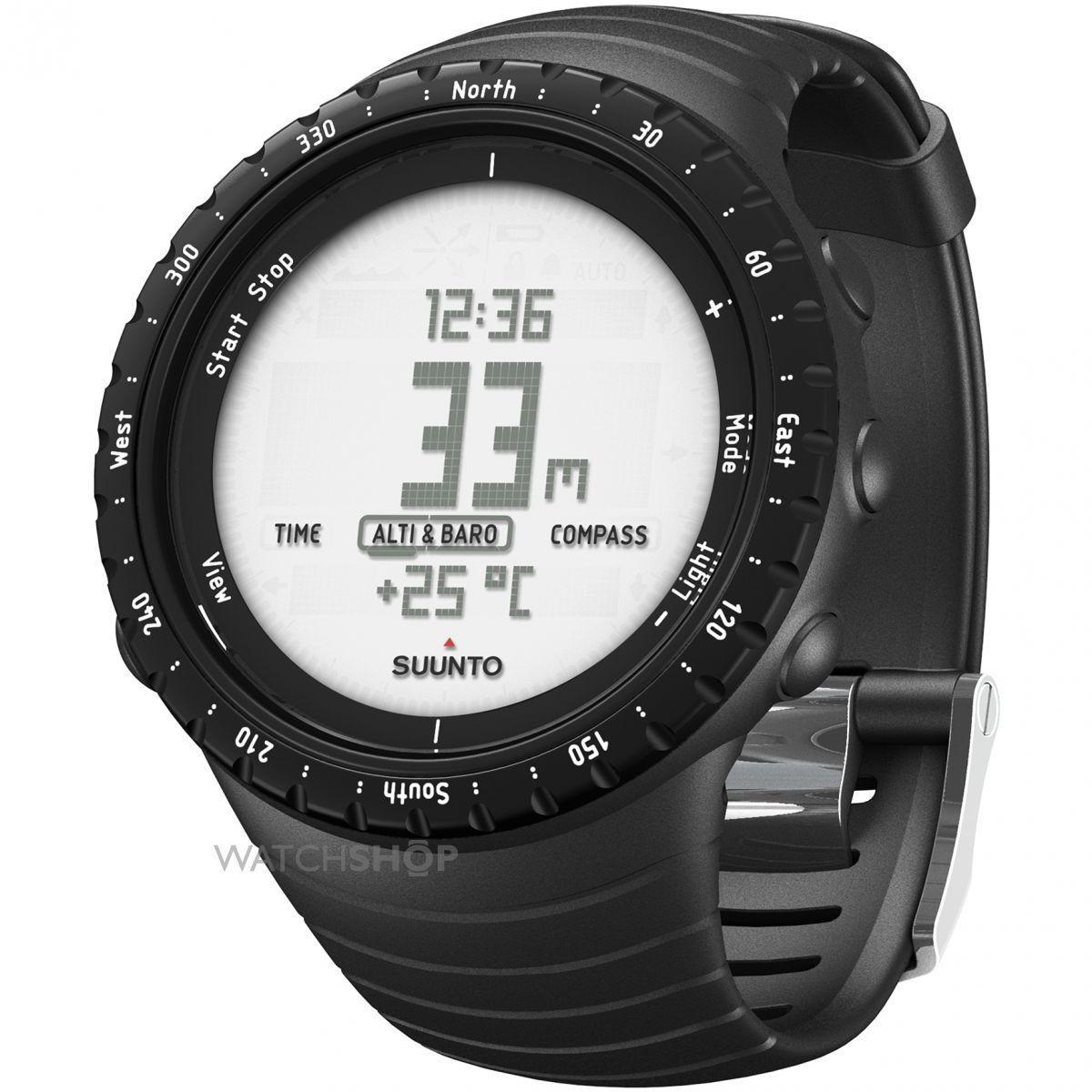 Часы спортивные Suunto Core Regular, цвет: черный80-171610Часы Suunto Core Classic, имеющие все необходимые функции для спорта на открытом воздухе, оснащены прочным корпусом и удобным эластомерным ремешком. Сочетая в себе альтиметр, барометр, компас и панель информации о погоде, Suunto Core Classic станут для вас незаменимым инструментом и верным спутником во всех приключениях. Альтиметр Барометр Компас Термометр Штормовое предупреждение Время восхода/захода солнца Глубиномер для подводного плавания с трубкой Многофункциональные часы с отображением даты и времени Сменная батарея Меню на нескольких языках (английском, французском, немецком, испанском)КомплектацияSuunto Core Regular Black и краткое руководствоРазмеры 49,1 x 49,1 x 14,5 мм Вес 64 г Материал безеля: Алюминий Материал стекла: Минеральный хрусталь Материал корпуса: Композит Материал ремешка: Эластомер