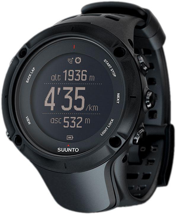 Часы спортивные Suunto Ambit3 Peak, цвет: черныйALC-MB10-3BALRU1-1Важнее всего – путь к вершине, будь то пик горной гряды или личный рекорд. Suunto Ambit3 Peak — ваши идеальные GPS-часы для спорта и приключений. Они помогут на каждом этапе пути, предоставляя всю необходимую информацию во время вашего приключения. Отслеживайте профиль высоты своего маршрута во время упражнений прямо на часах. Воспользуйтесь беспроводным подключением часов к смартфону и бесплатным приложением Suunto Movescount App для настройки часов на ходу. Приложение поможет дополнить впечатления о ваших приключениях, пережить их заново и поделиться с миром! Эти часы станут вашим лучшим товарищем, запишут и сохранят все ваши активности.АКТИВНЫЙ ОТДЫХ И МУЛЬТИСПОРТ30 часов работы от батареи с 5-секундной точностью GPS (1-минутная точность: 200 часов) Навигация по маршруту и обратный путь Навигация профиля высоты маршрута в режиме реального времени Компас Альтиметр (FusedAltiTM) Сведения о погоде Запись частоты сердцебиения при плавании** Расчет времени восстановления на основе уровня активности Скорость, темп и расстояние Мощность при езде на велосипеде (технология Bluetooth Smart) Информация о нескольких видах спорта в одной тренировке Находите новые маршруты с помощью теплокарт на сайте Suunto Movescount и в приложении Suunto Movescount App Тренировочные программы Movescount на часах Расширение возможностей с помощью приложений Suunto App Языки: английский, чешский, датский, немецкий, испанский, финский, французский, итальянский, японский, корейский, голландский, норвежский, польский, португальский, русский, шведский, китайскийВОЗМОЖНОСТИ ПОДКЛЮЧЕНИЯМгновенная передача и публикация ваших активностей* Настройка часов в реальном времени* Обновление времени и данных со спутников GPS в реальном времени* Использование телефона в качестве второго дисплея часов* (Если приключения обещают быть долгими, не забудьте взять дополнительный комплект батарей для смартфона.) Просмотр вызовов, сообщений и push-уве