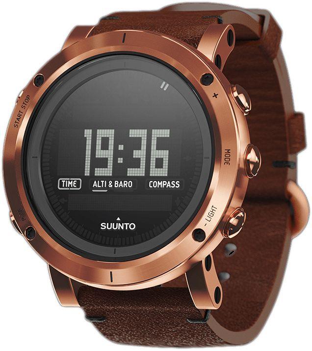 """Часы спортивные Suunto """"Essential"""", цвет: бронза"""
