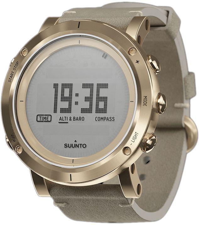 """Часы спортивные Suunto """"Essential"""", цвет: золотой"""