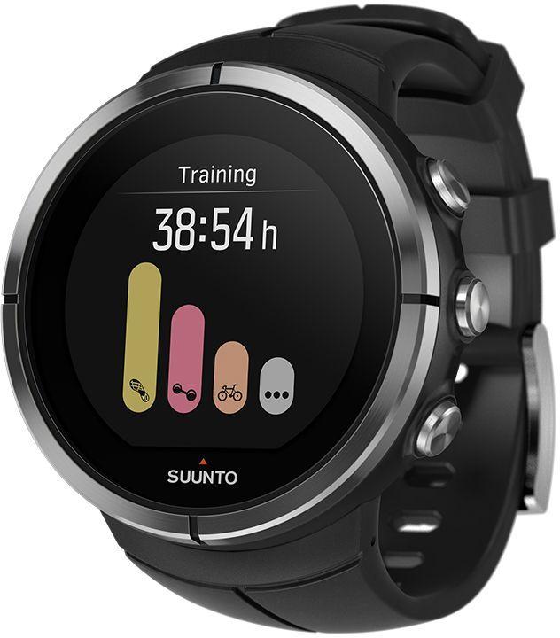Часы спортивные Suunto Spartan Ultra, цвет: черный95435-924Suunto Spartan Ultra — это продвинутые GPS-часы для мультиспорта с цветным сенсорным экраном, водонепроницаемостью до 100 м (300 фт.) и до 26 ч работы батареи в режиме тренировки. Компас и барометрическая высота с FusedAlti позволяют никогда не сбиться с пути. 80 предустановленных спортивных режимов и конкретные показатели по видам спорта делают Spartan Ultra вашим оптимальным партнером для тренировок. Отслеживайте достижения и личные рекорды. Оптимизируйте тренировки, опираясь на анализ данных сообщества. Открывайте новые маршруты в Suunto Movescount с помощью тепловых карт, пусть часы ведут вас по маршруту. Часы Spartan Ultra созданы вручную в Финляндии и спроектированы с прицелом на надежность в любых условиях.ВЫДЕРЖАТ ЛЮБЫЕ ПРИКЛЮЧЕНИЯВодонепроницаемость до глубины 100 м / 300 фт 18 часов работы от батареи в режиме максимальной мощности при фиксированном интервале опроса GPS (1 с) для наиболее точной GPS-навигации 26 часов работы от батареи в режиме экономии энергии при фиксированном интервале опроса GPS (1 с) для достаточно точной GPS-навигации Защищенный цветной сенсорный экран с тремя кнопками GPS/GLONASS для навигации по маршруту и определения расположения следование маршруту в реальном времени с маршрутом и точками POIGPS используется для отслеживания набора или снижения высоты в тренировке Алгоритм FusedAlti использует данные GPS и барометрическую высоту для точной оценки высоты Цифровой компас с компенсацией склонения ОПЫТ СПОРТИВНЫХ ДОСТИЖЕНИЙИзмерение частоты сердцебиения, оценка потраченных калорий, максимальной эффективности тренировки и времени восстановления Поддержка более 80 видов спорта в режимах соревнований и интервальной тренировки Режим триатлона и мультиспорта Настройка интервальных тренировок на часахБег: таблица пройденных этапов со сведениями о темпе бега и частоте сердцебиения; точное измерение темпа с технологией FusedSpeed™ поддержка датчика Stryd для оценки затрат мощности при
