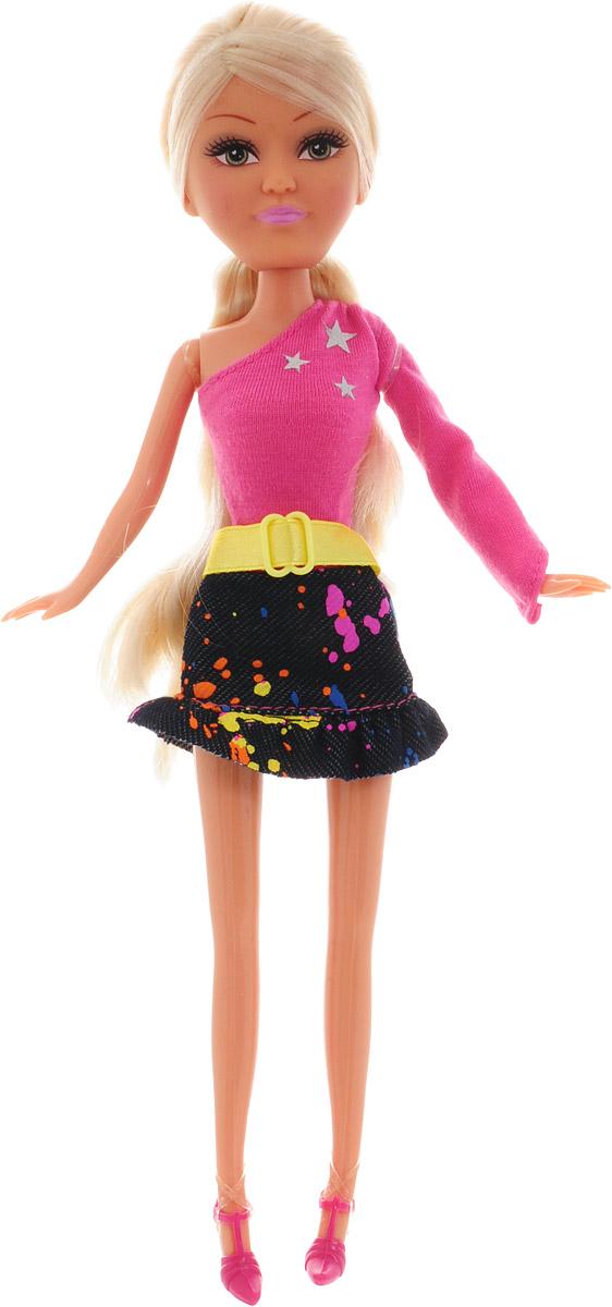 Funville Кукла Модница цвет наряда розовый темно-синий funville кукла sparkle girlz модница в рожке в ассортименте funville