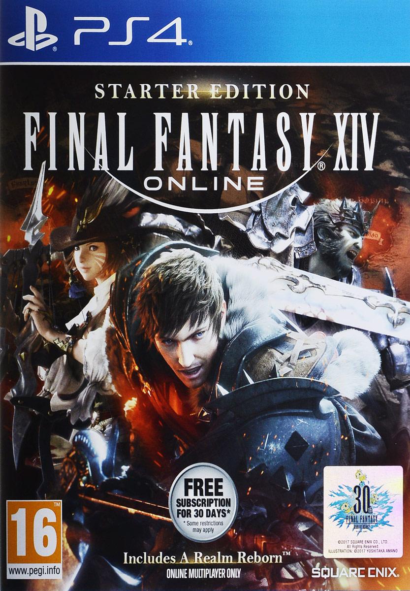 Final Fantasy XIV: Стартовое издание (PS4)