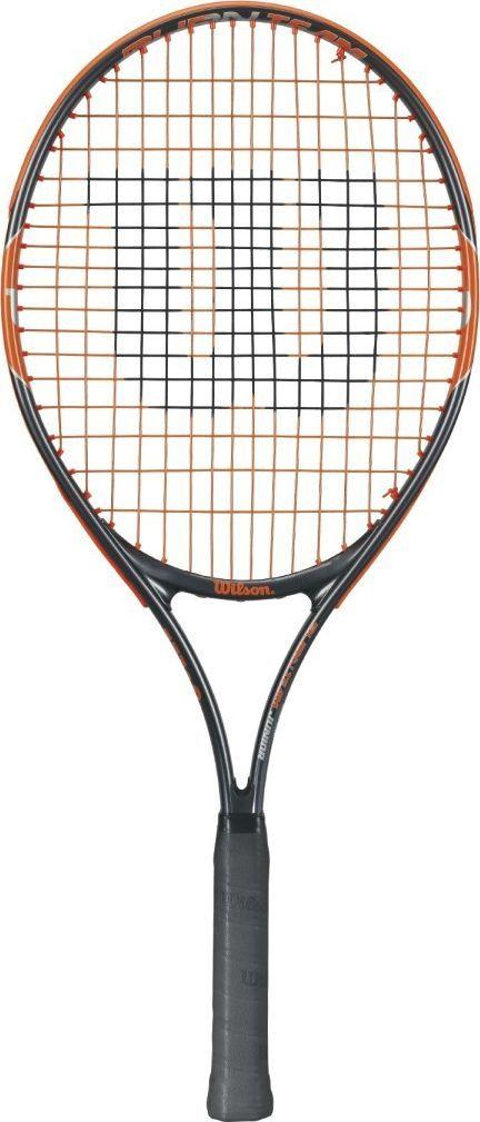 Теннисная ракетка Wilson Burn Team 25, детскаяBP7729Ракетка Wilson Burn 25Team Jr ракетка для молодых теннисистов для ежедневных тренировок!Размер головы: 613 см2Вес: 225 гДлина: 25 в