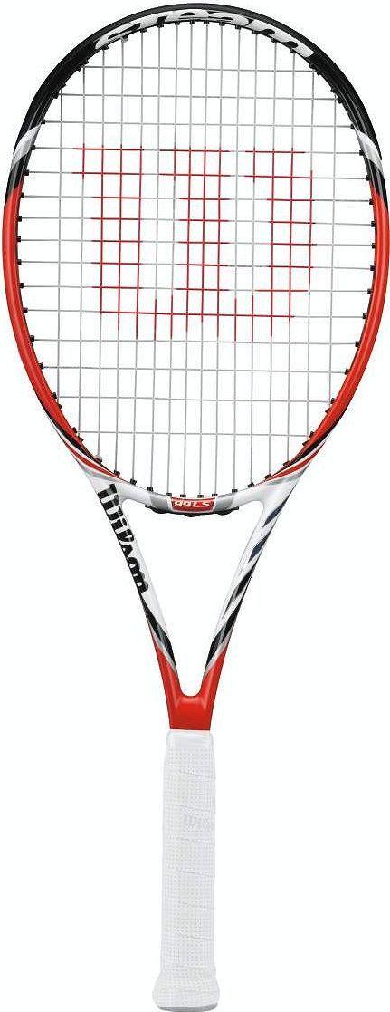 Теннисная ракетка Wilson Steam 99LS, ручка № 2332515-2800Ракетка была представлена на Уимблдоне 2014 года показала свои лучшие характеристики. Такие как: управляемая мощность манёвренность. Открытая струнная формула (16/15) помогает игроку не только получить хорошую подкрутку мяча, но играть достаточно быстрый атакующий теннис.Подойдёт прогрессирующим, уверенным юниорам девушкам. Также начинающие теннисисты мужчины найдут много плюсов этой ракетке.Размер струнной поверхности, кв см: 639Струнная формула: 16/15Баланс, см: 32,5Вес, гр: 277Длина ракетки, см: 68,5Размер струнной поверхности, кв дм: 99
