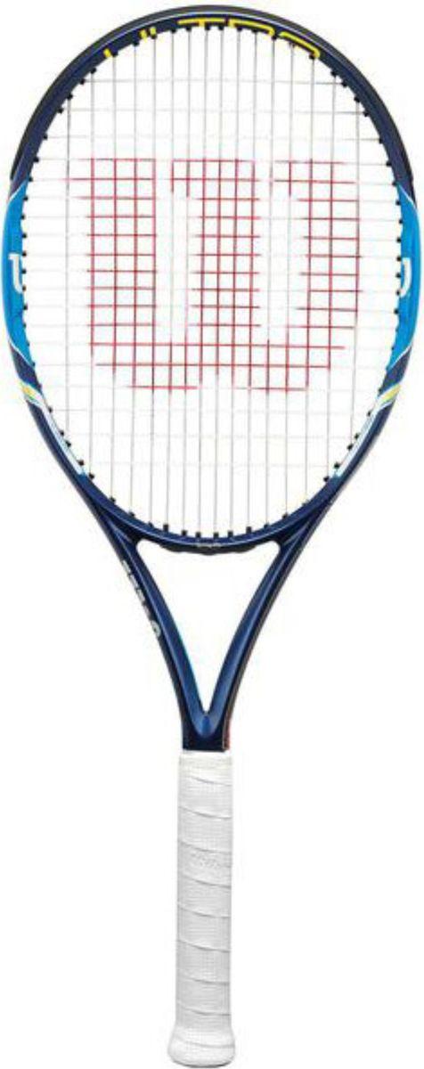 Теннисная ракетка Wilson Ultra 100Ul Team, ручка № 1332515-2800Ракетка теннисная Wilson Ultra 100UL TeamWilson Ultra UL Team самая легкая ракетка из семейства Wilson Ultra большим игровым пятном, высокой стабильностью маневренностью. Отличный вариант для начинающих теннисистов, любителей. Ракетка станет прекрасный подарком профессиональному юниору, как первая взрослая ракетка.Баланс (мм)340Вес (гр/унц)262/9.2Длина (мм/дюйм)685/27Артикул73190ПроизводительWilsonРазмер головки (см2/дюйм2)645/100Размер ручки2-3Рекомендуемая натяжка (кг)23-27Состав материалаGraphiteСхема натяжки16/18ТехнологияParallel DrillingТип Ракетки теннисная ProШирина обода (мм)26
