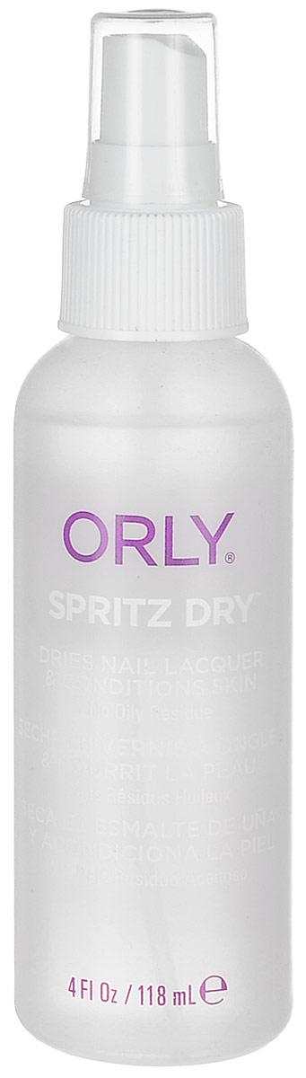 Orly Сушка-спрей Spritz Dry, 118 мл28032022Жидкая сушка Orly Spritz Dry в аэрозоли быстро высушивает лак. Она проста и удобна в применении. Испаряясь с поверхности ногтевой пластины, сушка-спрей ускоряет процесс высушивания лака и облегчает процедуру нанесения нового слоя лака или рисунка.Способ применения: распылить средство на расстоянии 10-15 сантиметров от ногтей, покрытых лаком. Идеально подходит для послойного высушивания лака при выполнении дизайна. Допустимо использование с любым базовым и верхним покрытием Orly. Характеристики:Объем: 118 мл. Артикул: 24350. Производитель: США. Товар сертифицирован.Состав: спирт денатурированный (70%), ацетон (20%), бутилстеарат, кунжутное масло, масло жожоба, токоферил ацетат (вит. Е), масло авокадо, парфюмерная отдушка.