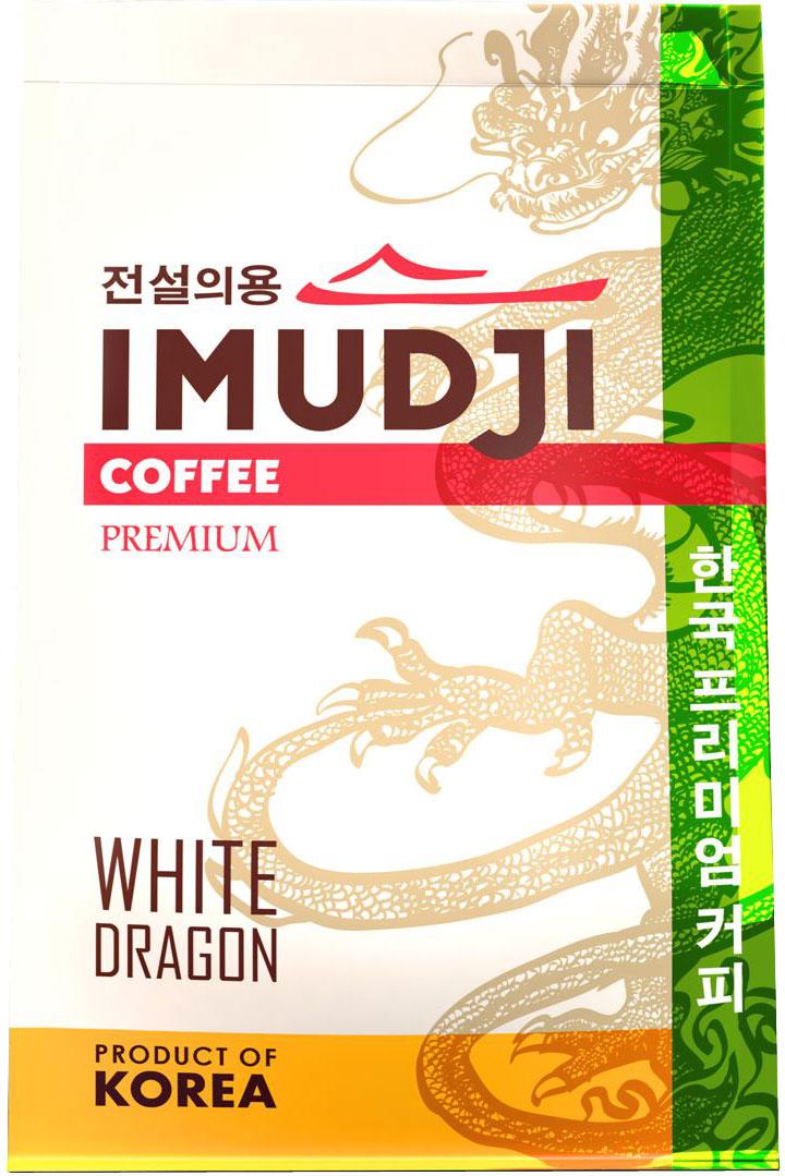 Imudji White Dragon кофе растворимый, 100 г0120710Кофейный бленд, состоящий из высокогорной кенийской арабики с добавлением 30% робусты из Вьетнама. Вкус крепкий, с фруктовым оттенком.