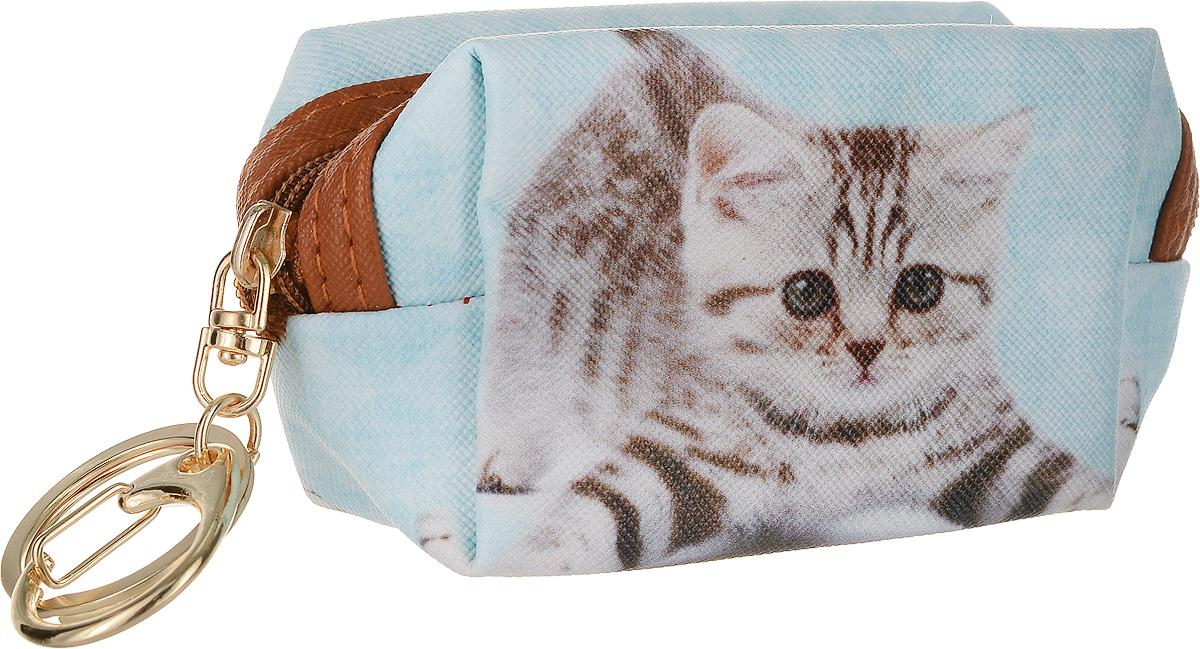 Кошелек-брелок Good Mood Кошки. Игривый кот, цвет: мультиколор. 4281-022_516Веселый кошелек -брелок Кошки бережно сохранят ваши ключи, деньги, наушники и другие важные для вас мелкие предметы. Принты с кошками настолько забавные,что поднимут настроение даже самому серьезному человеку. Отличный подарок на любому поводу. Характеристики: Оснащен кольцом для ключей Применение Ключница, брелок, модный аксессуар