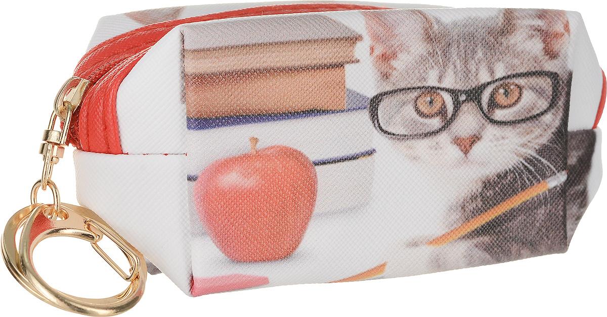 Кошелек-брелок Good Mood Кошки. Весельчак, цвет: мультиколор. 03811-022_516Веселый кошелек -брелок Кошки бережно сохранят ваши ключи, деньги, наушники и другие важные для вас мелкие предметы. Принты с кошками настолько забавные,что поднимут настроение даже самому серьезному человеку. Отличный подарок на любому поводу. Характеристики: Оснащен кольцом для ключей Применение Ключница, брелок, кошелек, модный аксессуар