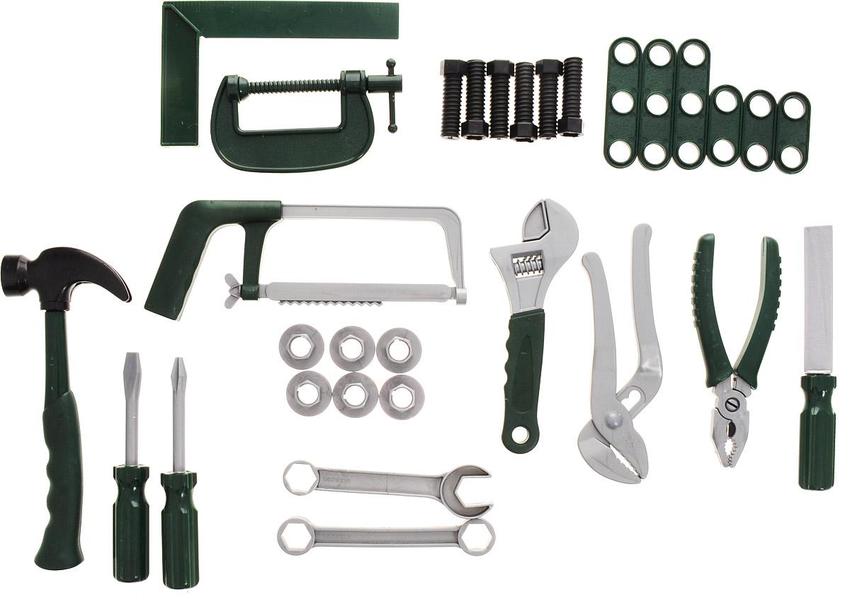 ABtoys Игрушечный набор инструментов 30 предметов  цена