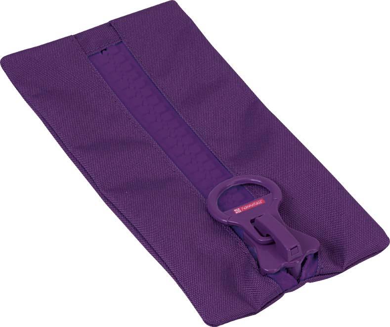 Brunnen BigZip Пенал на молнии цвет фиолетовый72523WDРазмер: 23x12 см.Материал: ткань.Цвет: фиолетовый.