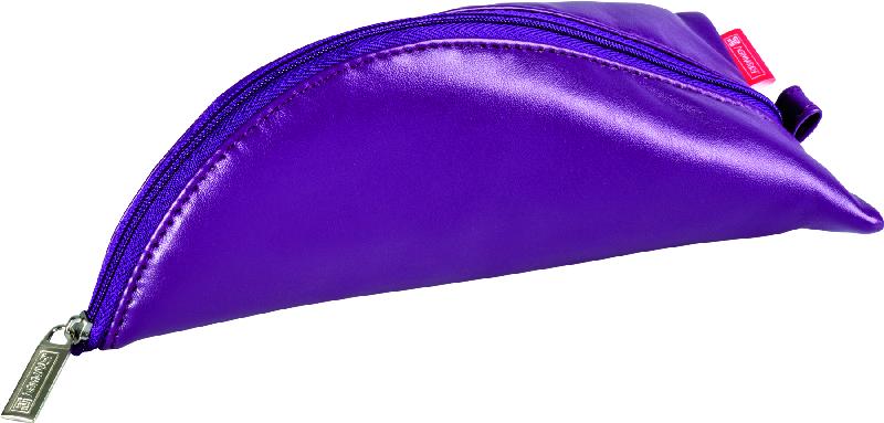 Brunnen Пенал на молнии цвет фиолетовый 19 х 10 см72523WDМягкий кожезаменитель,- тканеваяя подкладка,- фиолетовый,- 19х10 см.