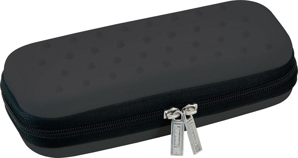 Brunnen Пенал на молнии цвет черный72523WD3 отделения для ручек1 карман для мелочейМатериал - этиленвинилацетатПоставляется без наполнения