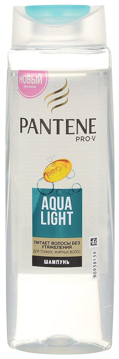 Pantene Pro-V Шампунь Aqua Light, для тонких, склоных к жирности волос, 250 млFS-00103Благодаря своей легкой формуле шампунь PantenePro-V Aqua Light оживляет и очищает волосы от корней до кончиков, а входящие в его состав укрепляющие вещества действуют на микроуровне, питая тонкие волосы и не утяжеляя их. Для наилучших результатов используйте с бальзамом-ополаскивателем и средствами по уходу Pantene Pro-V Aqua Light.