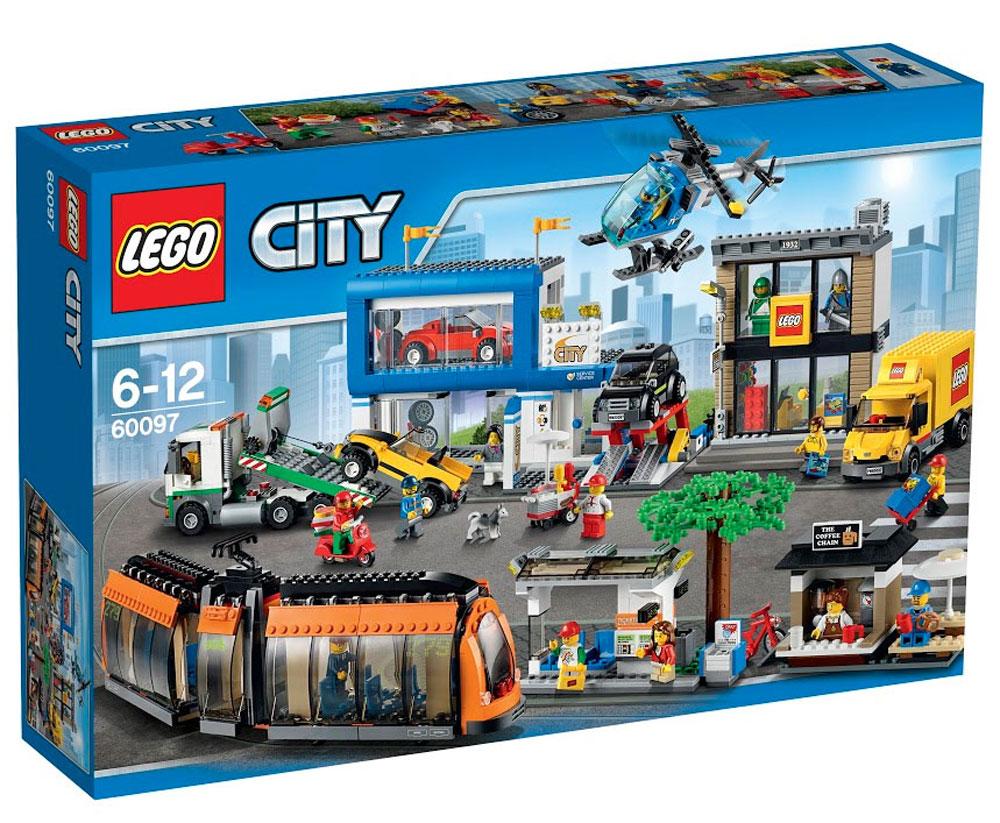 LEGO City Конструктор Городская площадь 60097