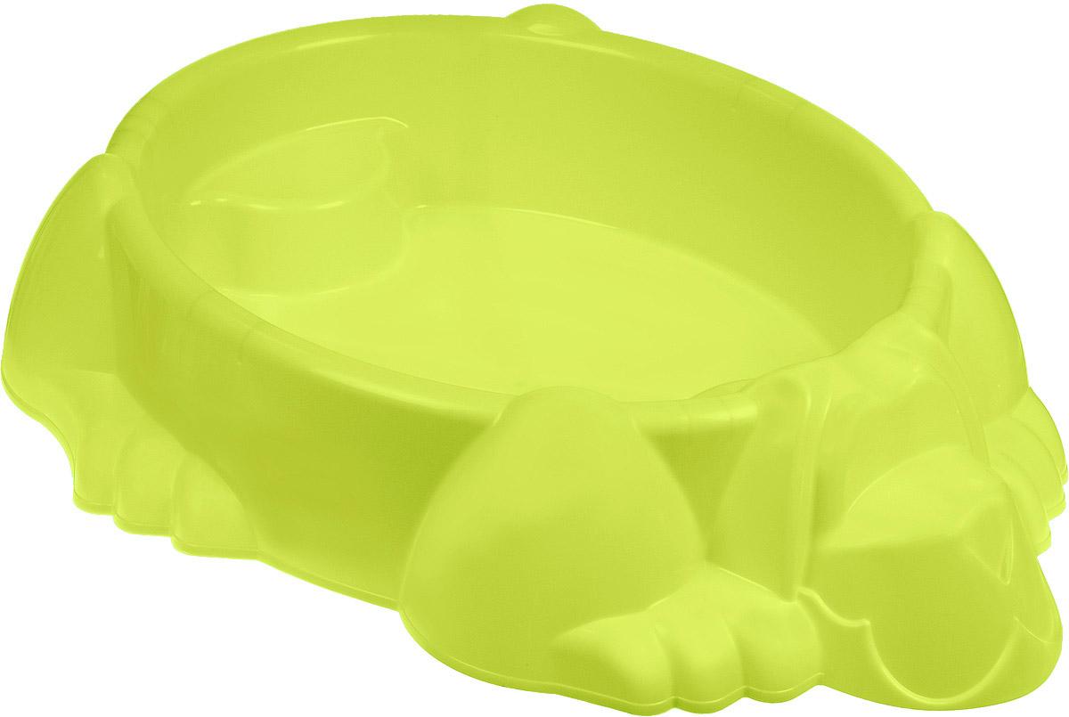 Marian Plast Бассейн-песочница Собачка цвет светло-зеленый - Игры на открытом воздухе
