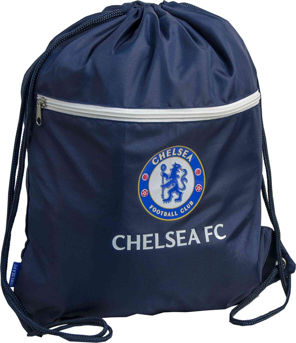 Мешок универсальный Atributika & Club Chelsea, цвет: синий, 20 л. 09105J30J304671Мешок Atributika & Club выполнен из 100% полиэстера. Он выполняет функции рюкзака, благодаря плечевым лямкам, которые надежно фиксируют изделие у его верхнего основания. Мешок с вышитым логотипом клуба отлично подойдет для сменной обуви или для прочих аксессуаров. Мешок имеет 2 отделения, одно из которых закрывается на молнию.