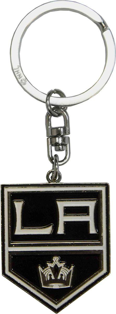 Брелок Atributika & Club Los Angeles Kings, цвет: черный. 55014322020Брелок Atributika & Club выполнен из металла в виде символики вашего любимого клуба. Брелок дополнен небольшой цепочкой и заводным кольцом. Длина: 4,5 см.