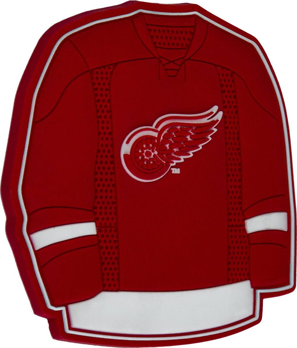 Магнит Atributika & Club Detroit Red Wings, цвет: красный. 56009GK02Магнит Atributika & Club выполнен из полимерного материалав виде символики вашего любимого клуба.Длина: 8 см.