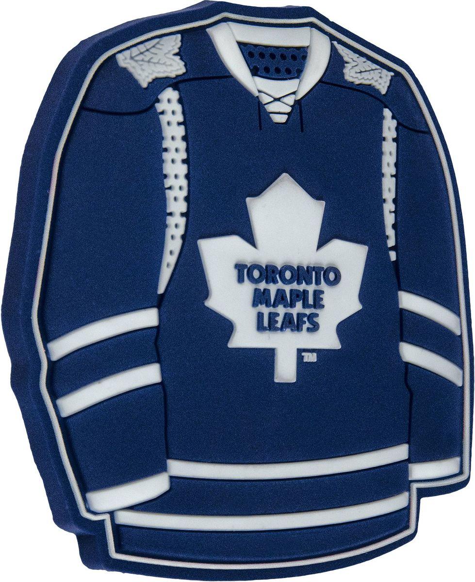 Магнит Atributika & Club Toronto Maple Leafs, цвет: синий, белый. 5601055015Магнит Atributika & Club выполнен из полимерного материала в виде символики вашего любимого клуба.Длина: 8 см.