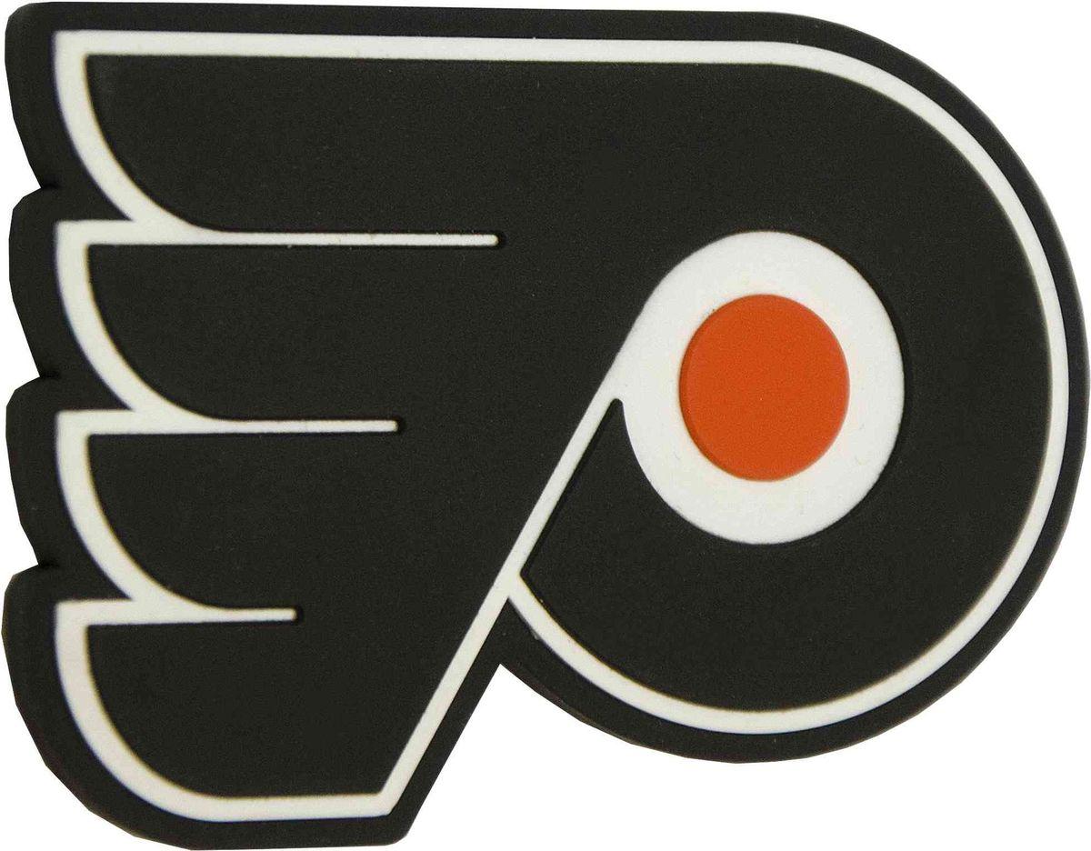 Магнит Atributika & Club Philadelphia Flyers, цвет: черный. 5601355005Магнит Atributika & Club выполнен из полимерного материалав виде символики вашего любимого клуба.Длина: 8 см.