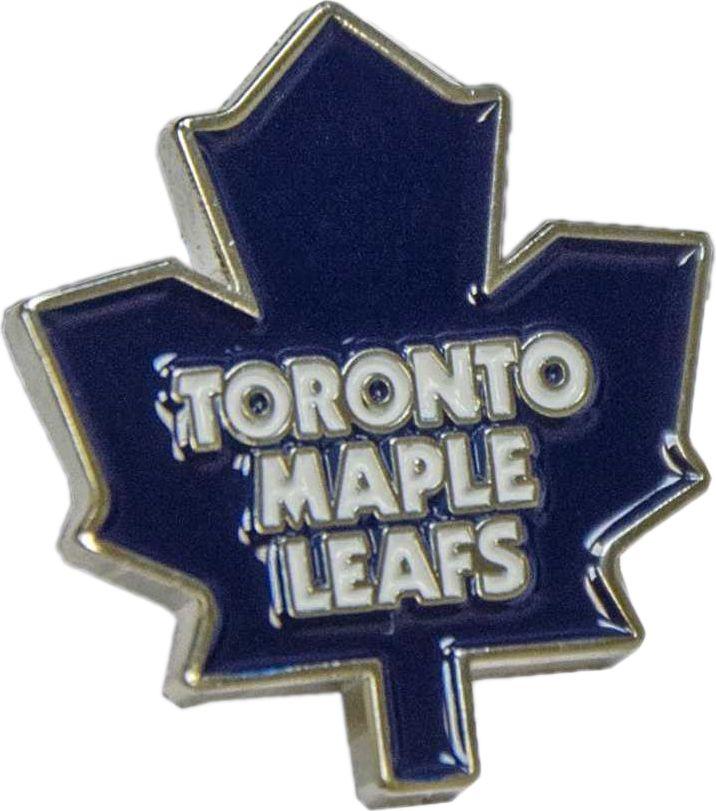 Значок Atributika & Club Toronto Maple Leafs, цвет: синий, белый. 61001231_002Значок Atributika & Club выполнен из металла в виде символики вашего любимого клуба. Значок дополнен застежкой цанга-бабочка. Застежка представляет собой диск, который фиксируется на гвозде за счет фиксатора. Длина: 2 см.