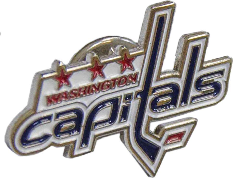 Значок Atributika & Club Washington Capitals, цвет: красный, синий. 6100361000Значок Atributika & Club выполнен из металла в виде символики вашего любимого клуба. Значок дополнен застежкой цанга-бабочка. Застежка представляет собой диск, который фиксируется на гвозде за счет фиксатора. Длина: 2 см.