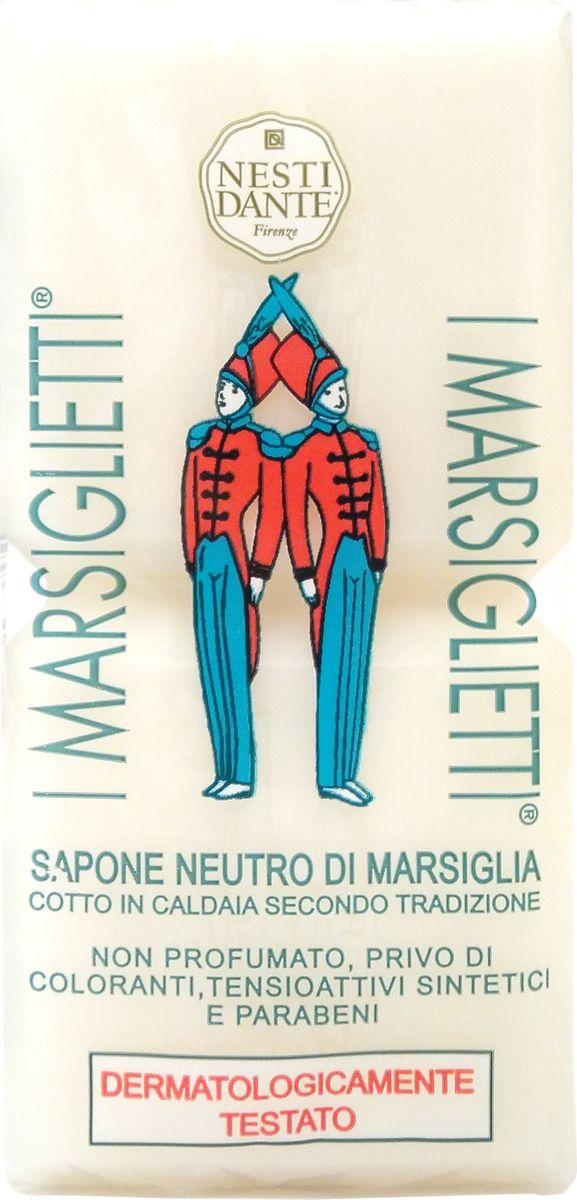 Nesti Dante Мыло I Marsiglietti Марсельское Традиционное, 200 г1910124Мыло I Marsiglietti Neutro Di Marsiglia Soap от компании NESTI DANTE предназначено для ухода за кожей всех типов. Косметическое средство на 100% состоит из натуральных ингредиентов, не содержит синтетических веществ и отдушек