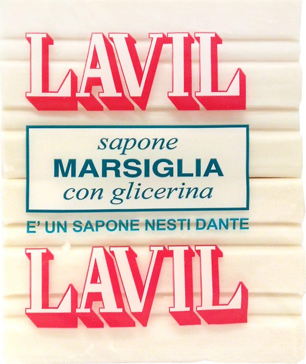 Nesti Dante Мыло Lavil White Laundry Soap Лавил, 2 х 150 г2011236Натуральное хозяйственное мыло белого цвета для стирки. В составе содержится глицерин, который способствует бережной защите рук.