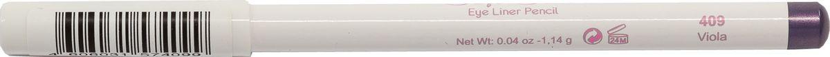 Cherie Ma Cherie Карандаш для глаз Soft Silk №409MFM-3101Мягкая текстура карандаша для глаз Soft SILK легко и приятно наносится на нежную кожу век. Уникальный состав на основе масел. Абсолютно гипоаллергенен. Он легко растушевывается, оставляя на веках насыщенный ровный цвет
