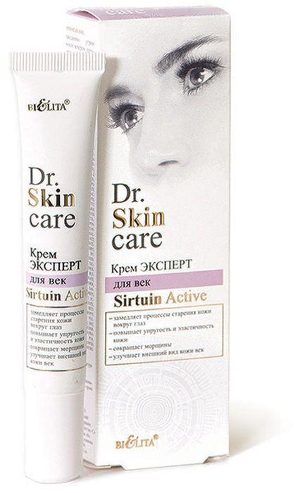 Белита Крем-эксперт для век Sirtuin Active туба Dr. Hair Care, 20 мл962125Sirtuin ActiveКрем способствует клеточному обновлению кожи век, защищает ее от преждевременного старения, делает гладкой и упругой.Resistem™ стимулирует синтез сиртуина-1, увеличивает прозрачность и яркость кожи, сглаживает ее несовершенства. Кофеин предотвращает отечность и припухлости вокруг глаз. Гиалуроновая кислота оказывает глубокое увлажняющее и омолаживающее действие. Масло ши увлажняет и смягчает кожу век, замедляет процессы старения, способствует регенерации. LPD's Multivitamin стимулирует синтез коллагена и сокращает морщины.ВНИМАНИЕ: активная формула — возможно пощипывание
