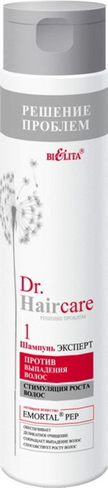 Белита Шампунь-эксперт против выпадения волос Dr. Hair Care, 300 млFS-54100против выпадения волосстимуляция роста волособеспечивает деликатное очищениесокращает выпадение волосспособствует росту волосШампунь бережно очищает кожу головы и волосы, способствует укреплению и усиленному росту волос, делая их прочными и эластичными. Придает волосам мягкость и шелковистость.
