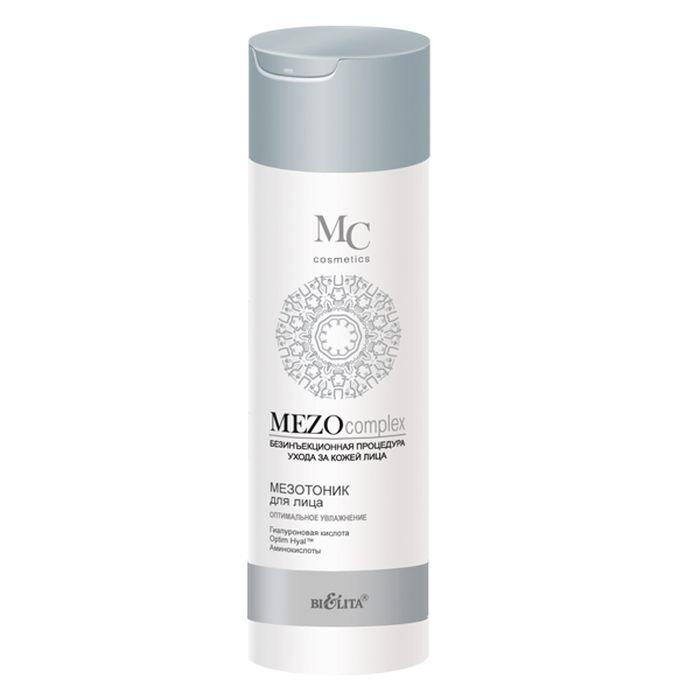 Белита Мезотоник для лица Оптимальное Увлажнение MEZOcomplex, 200 млFS-36054Мезотоник для лица завершает процесс очищения кожи, тонизирует, глубоко насыщает влагой и надолго задерживает ее внутри. Подготавливает кожу к эффективному воздействию косметических средств основного ухода.Optim Hyal ™ стимулирует синтез гиалуроновой кислоты, восстанавливает ее оптимальный баланс, повышает увлажненность кожи, увеличивает ее эластичность, плотность и упругость, уменьшает несовершенства и разглаживает морщины.Гиалуроновая кислота глубоко увлажняет кожу и удерживает влагу на поверхности, разглаживает морщины, повышает эластичность кожи и выравнивает ее тон.Коктейль из аминокислот (таурин, глицин, аргинин) наполняет клетки кожи энергией и жизненной силой, способствует клеточной регенерации.