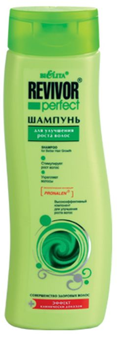 Белита Шампунь для улучшения роста волос, 400 млMP59.4DСодержат технологическая инновация Pronalen высокоэффективный компонент для улучшения роста волосКак работает технология Pronalen для роста волос?Технология PronalenO стимулирует кровоснабжение кожи головы, укрепляет корни волос и наполняет их жизненной силой.Экстензин + Рускус — укрепляют луковицы волос.Красный перец + Гуарана — способствуют питанию кожи головы.Олива + Лимон — обладают регенерирующим и балансирующим действием.Комплекс витаминов (A,B,E,F,H) — нормализует витаминный баланс кожи головы.Кондиционер — придает эластичность, блеск, облегчает расчесывание.Эффект клинически доказан!При регулярном применении препаратов Revivor® perfect для улучшения роста волос рост волос увеличивается на 40%