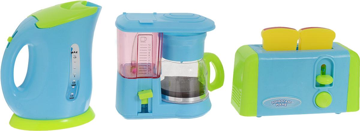 ABtoys Игровой набор Кухонная техника 5 предметов