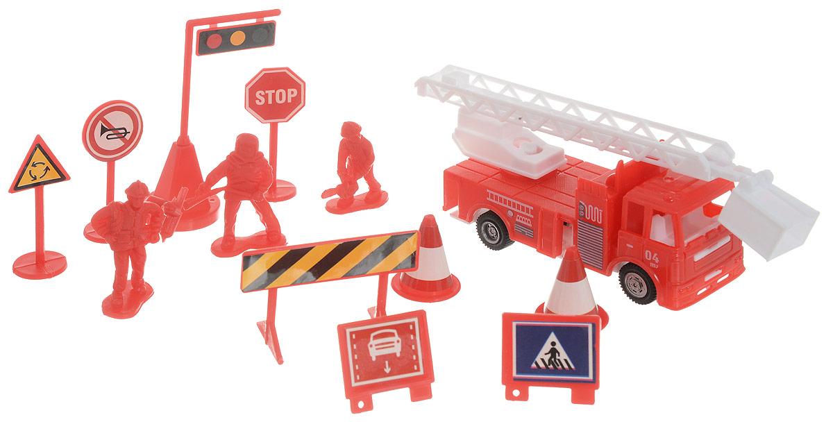 ABtoys Игровой набор Пожарная техника
