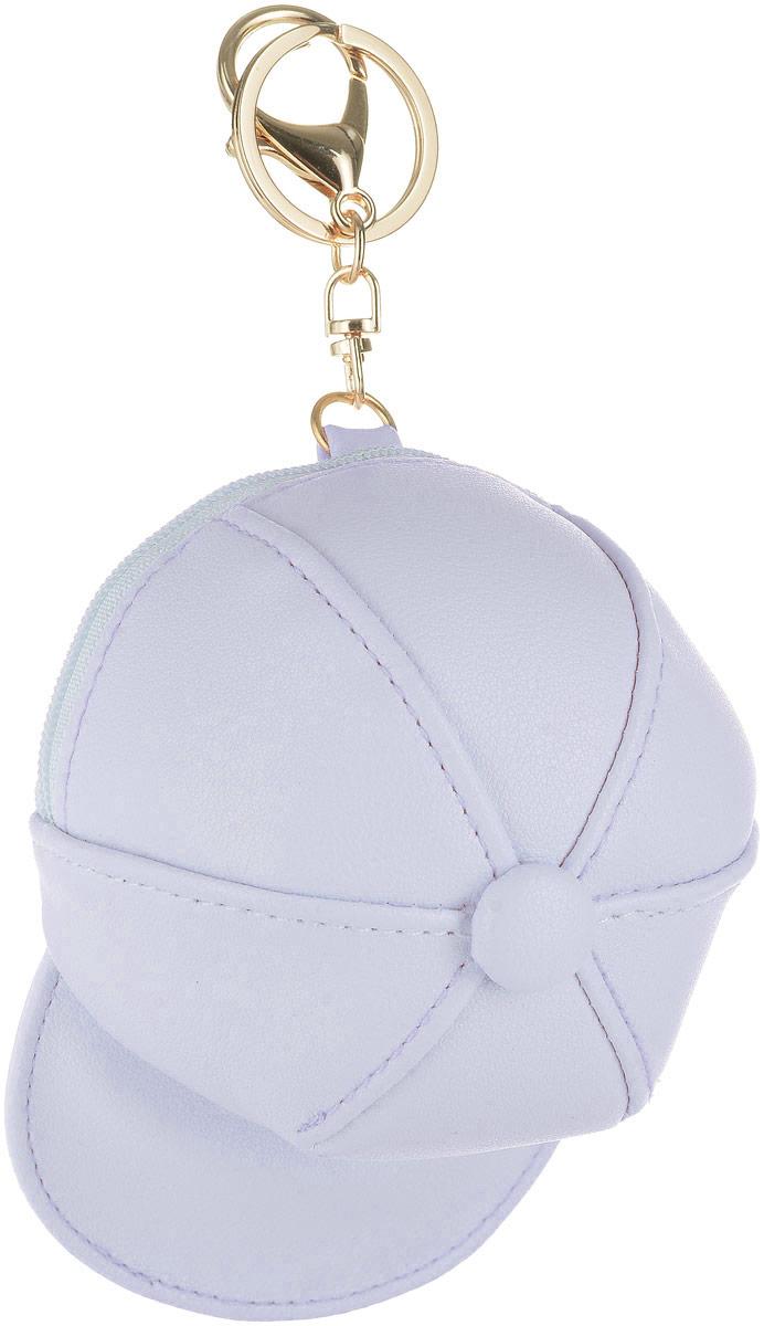 Кошелек-брелок Good Mood Кепка, цвет: серый. 0121495350нМодный аксессуар в форме Кепки дополнит ваш образ и освободит руки от вещей, которые вам так важны. Кошелек-брелок Кепка оснащен металлическим кольцом для ключей и карабином для закрепления к сумке, рюкзаку, одежде, велосипеду. Кошелек достаточно вместительный: в нем спокойно можно носить ключи, деньги, кредитные карты, наушники, помаду и т.д. Полезный и приятный подарок как для девушек так и для парней. Характеристики: Размер 11х8 см Применение : брелок, кошелек, модный аксессуар
