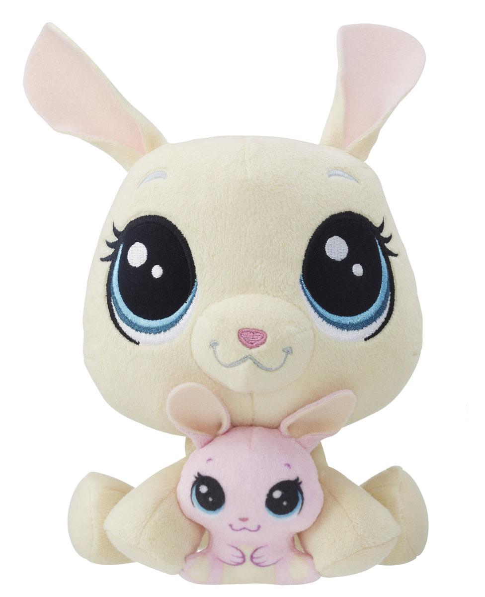Littlest Pet Shop Мягкая игрушка Vanilla & Bijou Velvetears 15 см - Мягкие игрушки