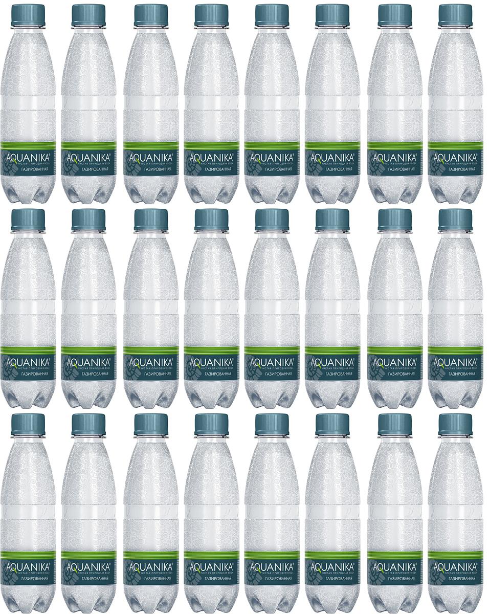 Акваника вода газированная, 24 штуки по 0,25 л0120710Минеральная вода из уникального источника - подземного реликтового моря. Восстанавливает естественный баланс веществ.