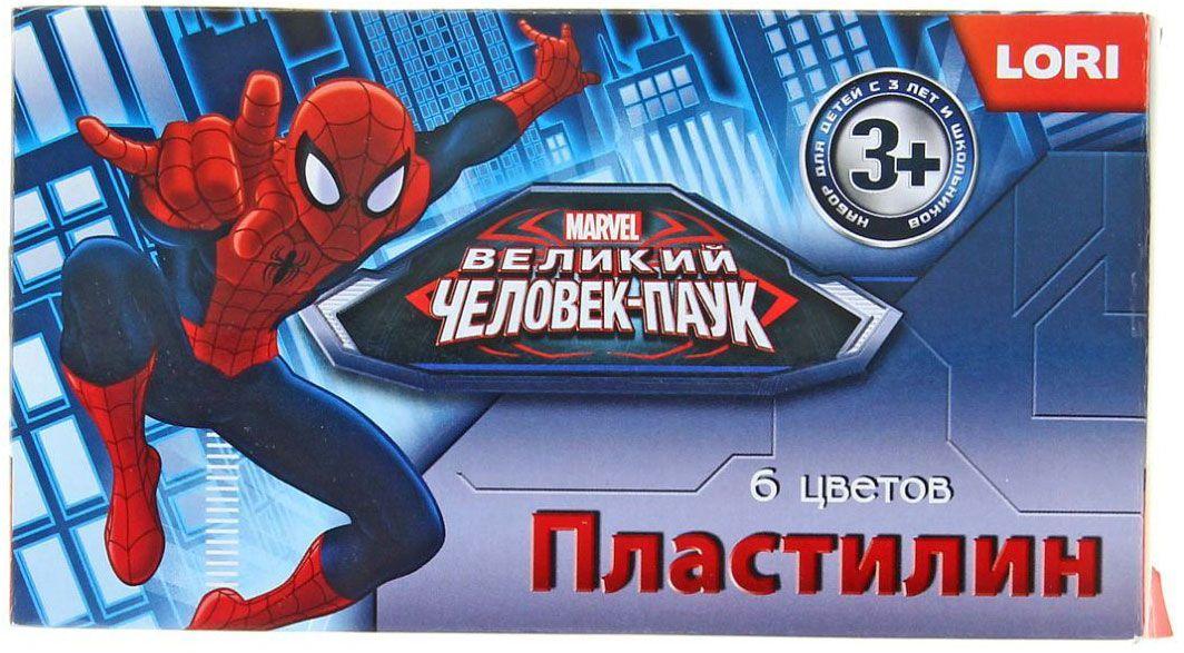 Marvel Пластилин Человек-паук 6 цветов72523WDИзделия данной категории необходимы любому человеку независимо от рода его деятельности. У нас представлен широкий ассортимент товаров для учеников, студентов, офисных сотрудников и руководителей, а также товары для творчества.