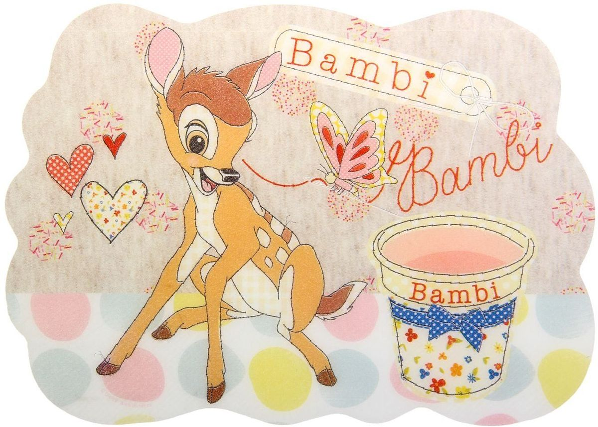 Disney Настольное покрытие Bambie 15 х 21 смCM000001326Изделия данной категории необходимы любому человеку независимо от рода его деятельности. У нас представлен широкий ассортимент товаров для учеников, студентов, офисных сотрудников и руководителей, а также товары для творчества.