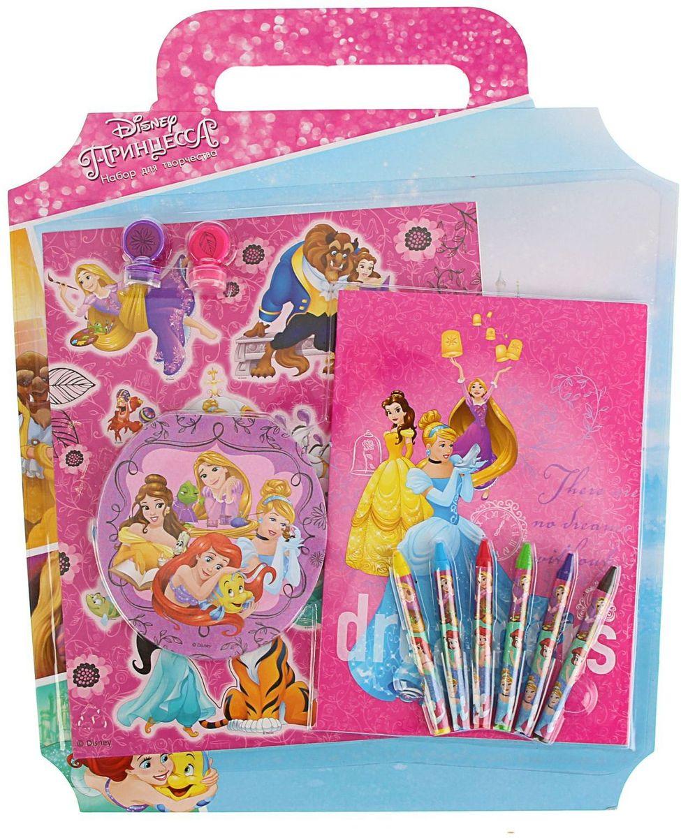 Disney Princess 1782437FS-00897Дети всегда ищут возможность самореализоваться и познать окружающий мир, их воображение не ограничено никакими рамками и у них есть тяга к чему-то неизведанному.Сохранить и развить эти качества поможет Подарочный набор для творчества Disney.Яркое оформление и богатое разнообразное наполнение изделия вызовут неподдельную радость у маленького непоседы.С таким набором ребёнок сможет раскрыть новые грани своего таланта, воплотить самые интересные задумки и похвастаться успехами перед родителями и сверстниками.