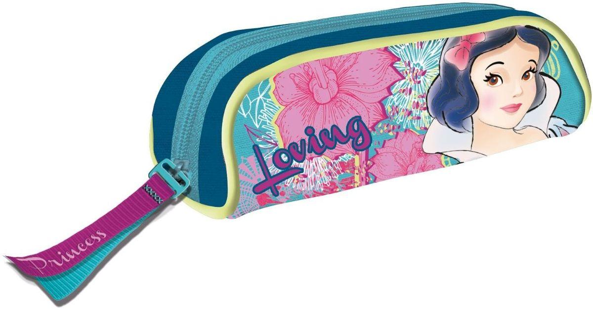 Disney Пенал Принцесса1117465Яркий и весёлый пенал поможет вашему непоседе сохранять порядок у себя в рюкзаке и на письменном столе. С таким аксессуаром ваш юный школьник станет главным модником в классе!