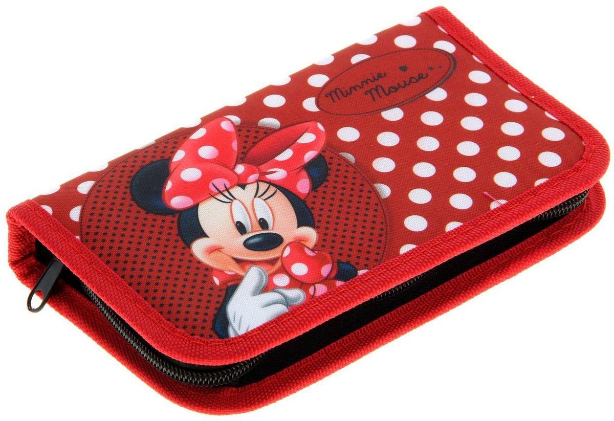 Disney Пенал Минни72523WDЯркий и весёлый пенал поможет вашему непоседе сохранять порядок у себя в рюкзаке и на письменном столе. С таким аксессуаром ваш юный школьник станет главным модником в классе!