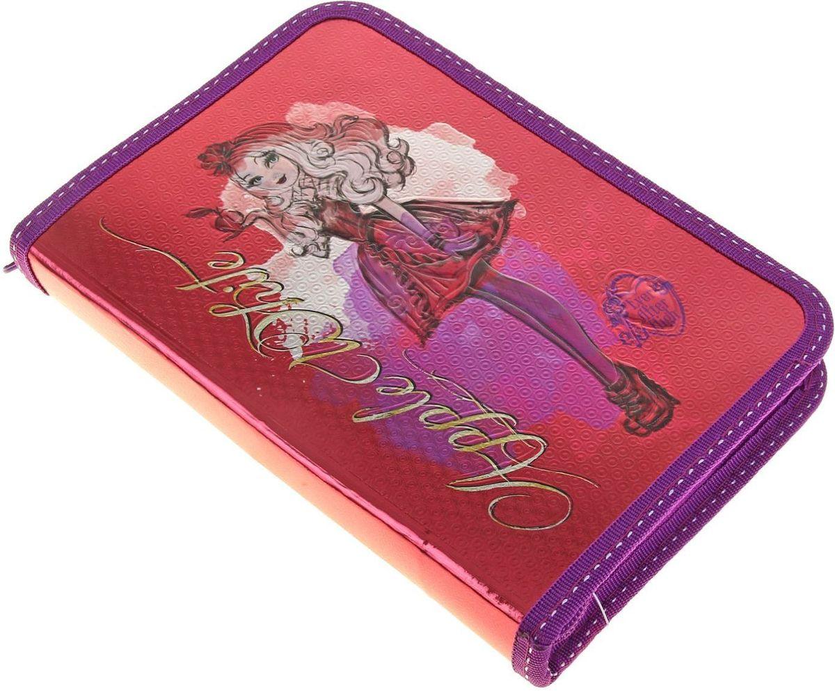 Ever After High Пенал цвет малиновый1156134Яркий и весёлый пенал поможет вашему непоседе сохранять порядок у себя в рюкзаке и на письменном столе. С таким аксессуаром ваш юный школьник станет главным модником в классе!