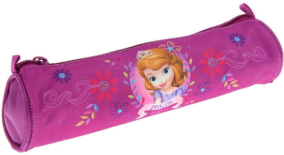 Disney Пенал София72523WDЯркий и весёлый пенал поможет вашему непоседе сохранять порядок у себя в рюкзаке и на письменном столе. С таким аксессуаром ваш юный школьник станет главным модником в классе!