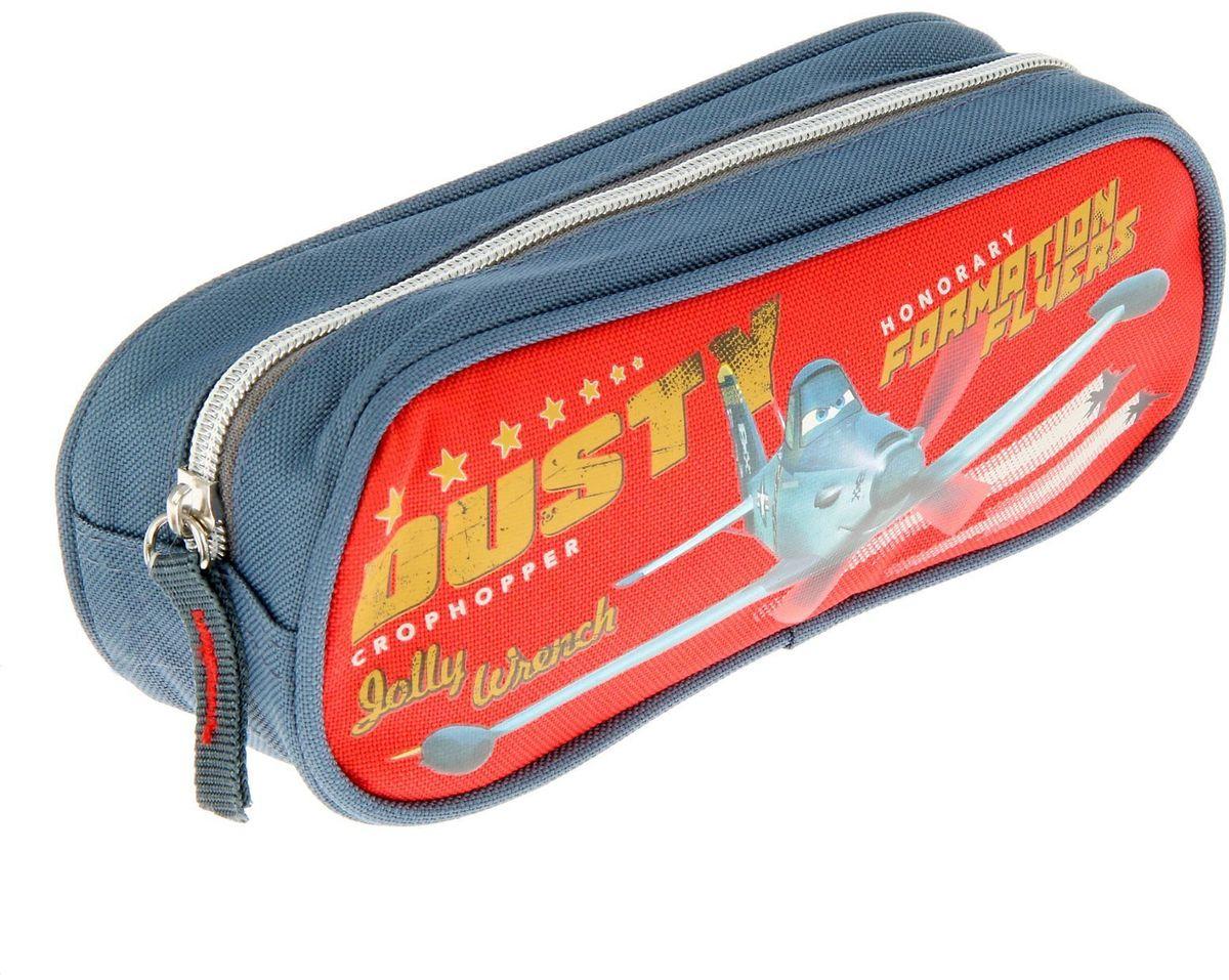 Disney Пенал Planes72523WDЯркий и весёлый пенал поможет вашему непоседе сохранять порядок у себя в рюкзаке и на письменном столе. С таким аксессуаром ваш юный школьник станет главным модником в классе!