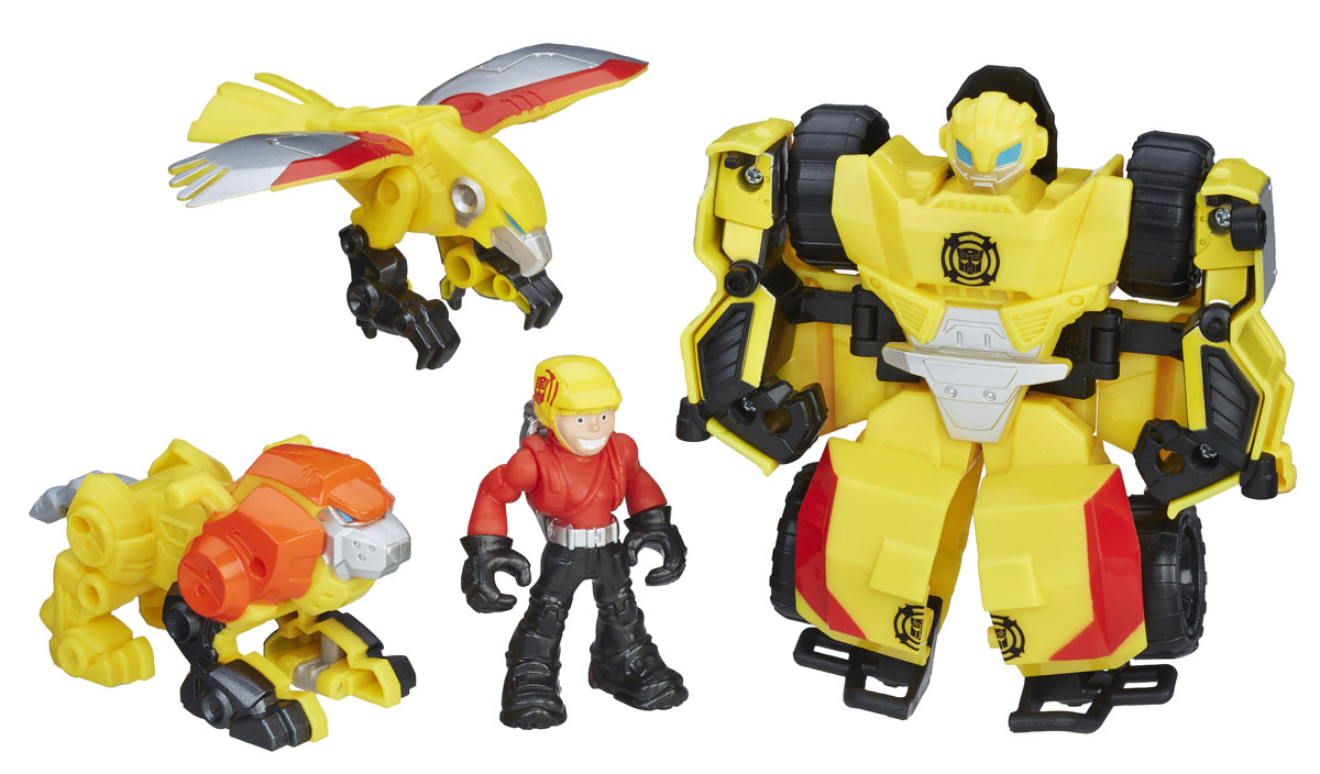 Playskool Heroes Игровой набор Bumblebee Rock Rescue Team набор playskool heroes мстители геликарриер