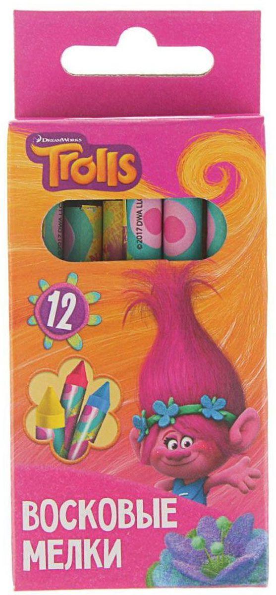 Trolls Мелки восковые 12 цветовFS-36052Изделия данной категории необходимы любому человеку независимо от рода его деятельности. У нас представлен широкий ассортимент товаров для учеников, студентов, офисных сотрудников и руководителей, а также товары для творчества.